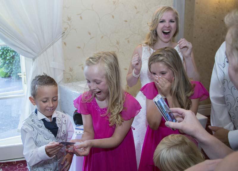 Wedding magic in a marquee