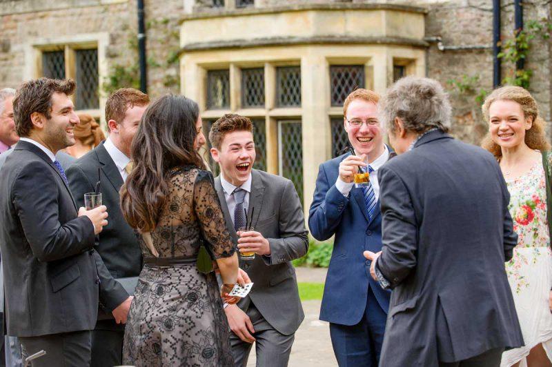 A wedding at Miskin Manor