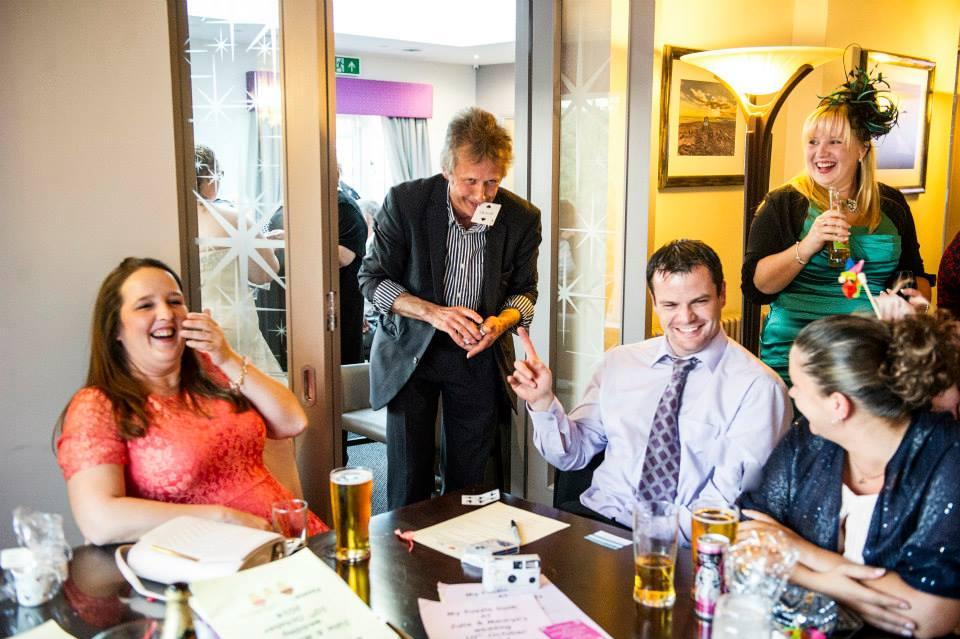 Magician at The plough wedding fayre